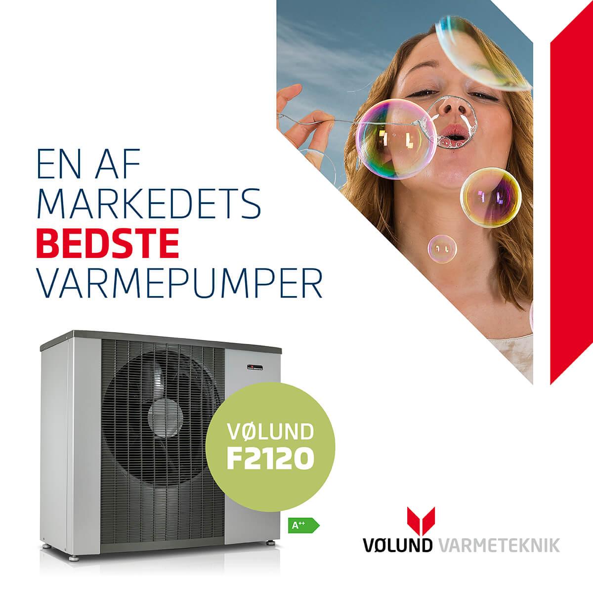 Autoriseret forhandler af Vølund varmepumper